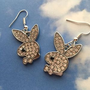 Jewelry - Playboy Rhinestone earrings